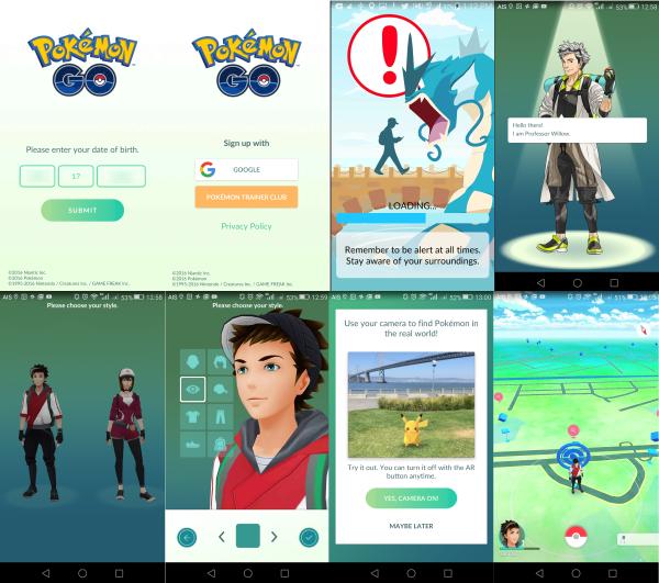 วิธีการเล่น Pokémon Go