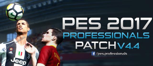 PES Professionals 2017 V4.4